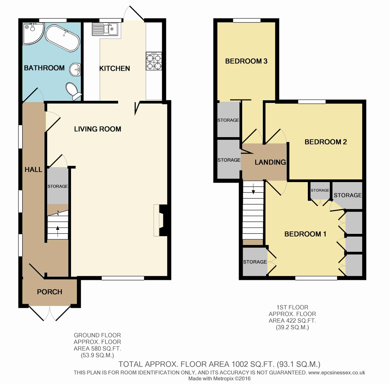 Floorplan of Hewett Road, Dagenham, Essex, RM8 2XT
