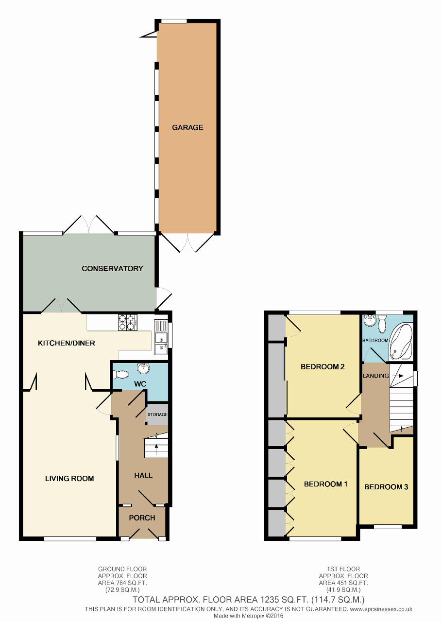 Floorplan of Whitebarn Lane, Dagenham, Essex, RM10 9LP