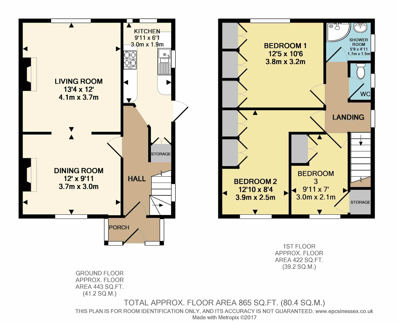 Floorplan of Waterbeach Road, Dagenham, Essex, RM9 4AA