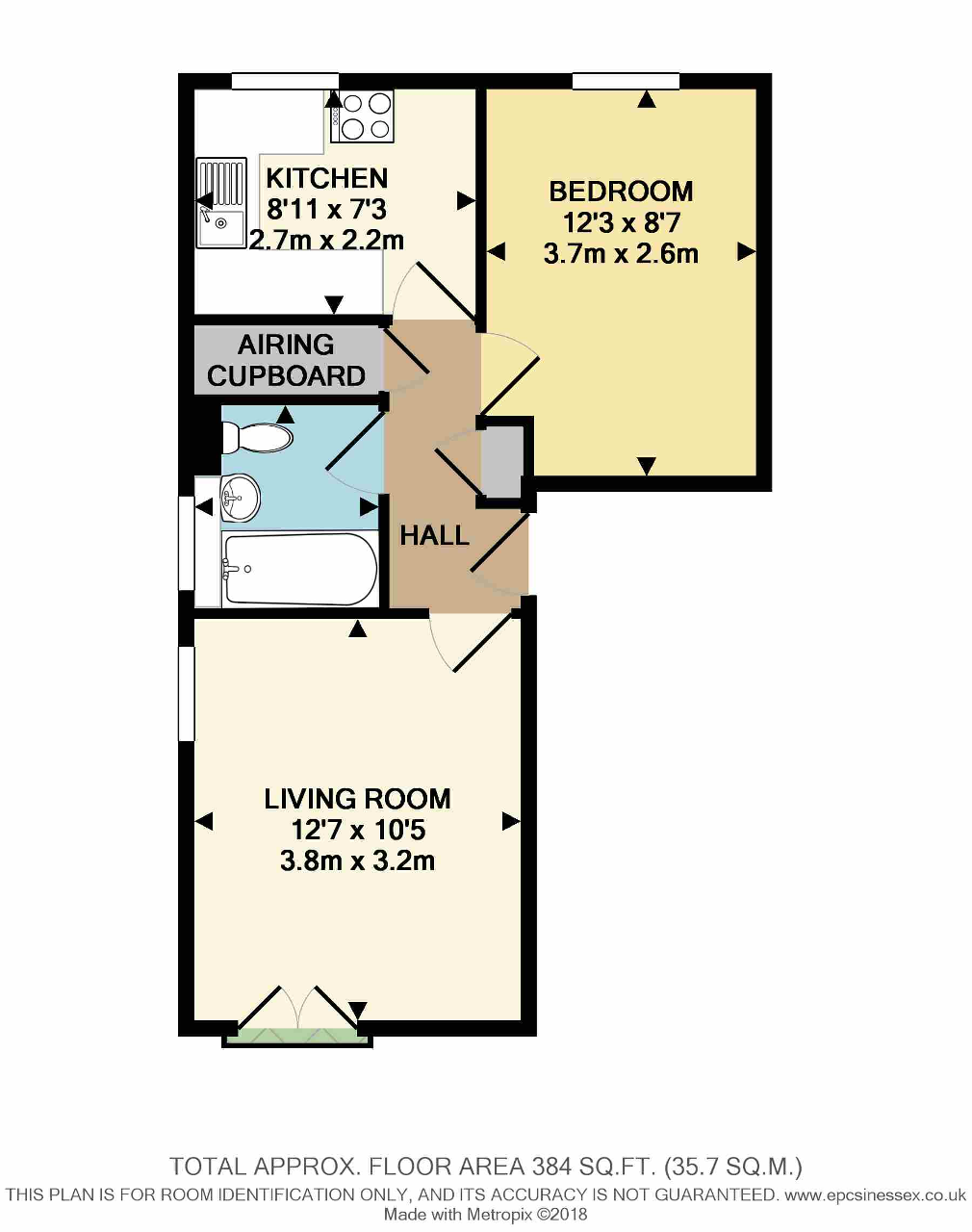 Floorplan of York Place, Shafter Road, Dagenham, Essex, RM10 8SE